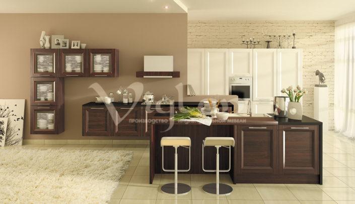 фото венге современные кухни Симферополь Евпатория