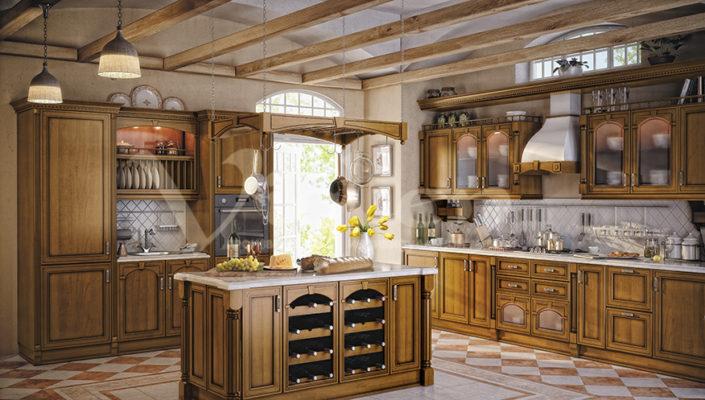 кухня вишня фото прованс