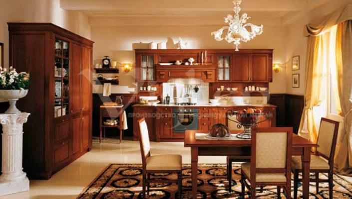кухня вишня фото