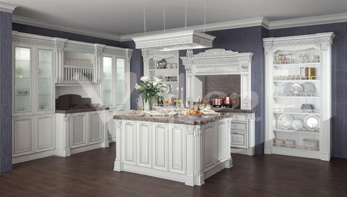 заказать мебель кухня белый дуб Симферополь Евпатория