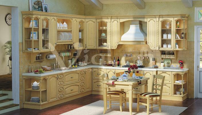 Евпатория кухня слоновая кость фото прованс