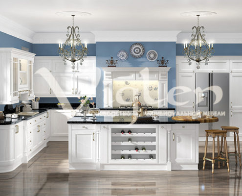 Евпатория кухня белый дуб фото прованс
