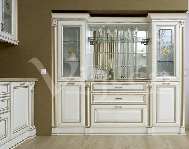 фото классическая кухня белая заказать
